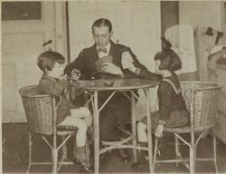 Left to right_ Erwin Gumpel, Gustav Gumpel, Gerda Gumpel -- 1926, Hamburg, Germany