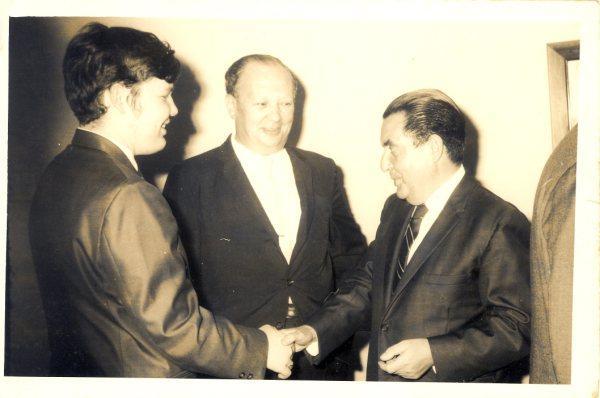 INDEPENDENCIA DE ISRAEL 1969 -- PAPI, ALFREDO Y ROBBY