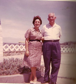 Magda and John Koppel -- 1962, Hotel Humboldt, Playas