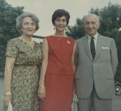 Lieschen Gumpel, Gerda Gumpel and Gustav Gumpel