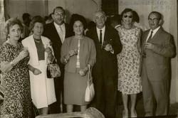 Peter Albers Bar Mitzvah party (from left_ Elisabeth (Lieschen) Gumpel (nee Partos), Else Wellisch (