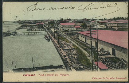 Guayaquil -- Vista general del Malecon