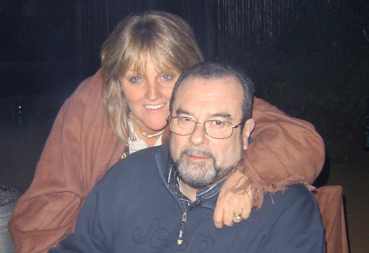 Niko Shefer and wife, Tania -- 2008, Johanesburg, South Africa