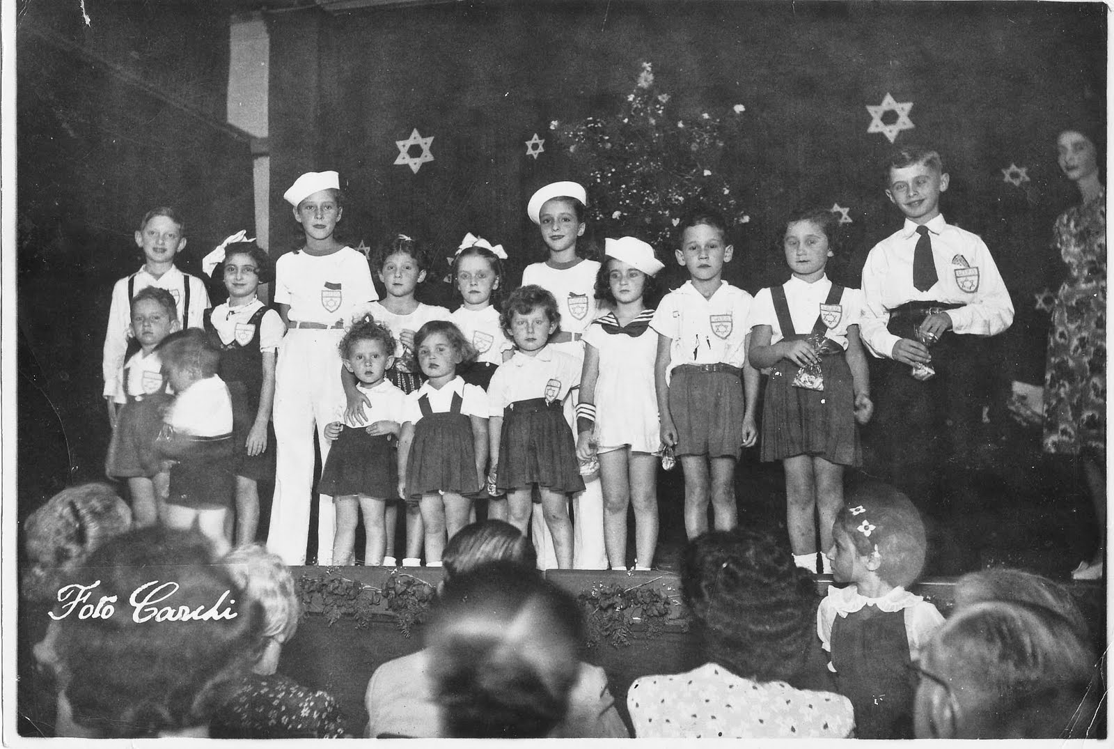 1947 photo of an event (probably Purim or Hannukah) at the Beneficienca (I think) in Guayaquil.jpg