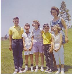 Cousins reunion in Colina del Sol Park (San Diego, CA)_ (L - R) Fred Grunewald, Tom Koppel, Peggy Gr