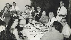From left front, clockwise around table_ Gerda Sifnaghel (nee Gumpel), Edith Koppel (nee Wellisch),