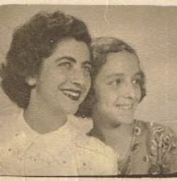 The photo shows my sister, Eveline, and me, before she left to the U.jpgS.jpgA.jpg in 1950.jpg