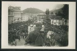Quito -- Crowd in the main square