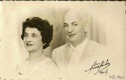 Magda Koppel (nee Partos) and John Koppel -- 1960, Guayaquil