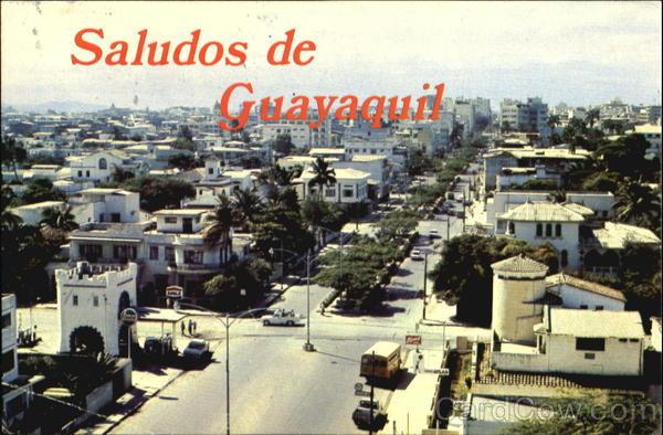Guayaquil -- Vista panaramico del este de Guayaquil