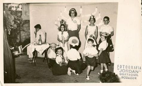 Performance at Centro Israelita -- December 1961, Guayaquil