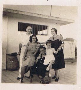 Our small family_  my parents Siegbert and Else Cohn in the back; my paternal grandmother Recha Cohn