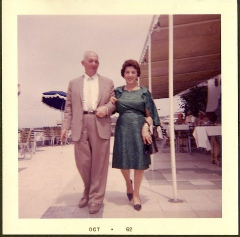 John and Magda Koppel -- 1962, Hotel Humboldt, Playas