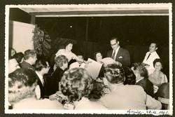 Going-away party for Heinz & Ilse Grunewald (nee Koppel) -- Centro Israelita -- November 28, 1961, G