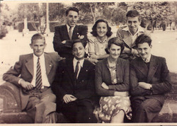 Back Row_ l to r  Ludwig Nadelmann (who became the head of the Reconstructionist Movement in the US)