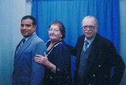 _Chichi_ Elizabeth Nussbaum, her late husband Wolfgang _Wolfi_ Klein, and their adopted son Enrique.