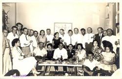 REUNION EN CASA JUNIN DE COMUNIDAD JUDIA -- 1959, Guayaquil