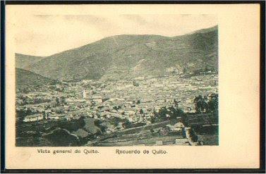 Vista general de Quito
