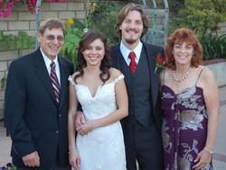 From left_  Richard Ratner, Solimar & Daniel Ratner, & Peggy Ratner (nee Grunewald) -- 2008, Chula V