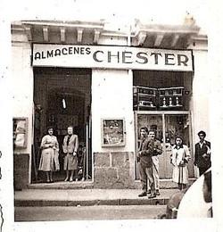 Abraham Schaechter's store on Calle Olmedo, Quito, near the Plaza del Teatro Sucre.jpg