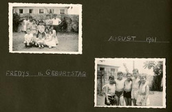 Fred Grunewald's 11th birthday -- August 1961, Guayaquil