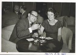 Heinz and Ilse Grunewald (nee Koppel) -- December 1961, Mexico City