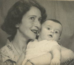 Gerda Sifnaghel and her son, Niko -- ca.jpg