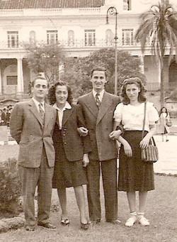 Left - right_ _,  _,  Manfred Erdstein, Edith Wellisch