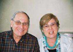 Helmut & Eva Wellisch (nee Steiner) -- 2008, Los Angeles, CA