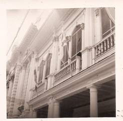 Israeli flag waving on the front of the Club Centro Israelita, Guayaquil, 9 de Octubre 106 (undated)