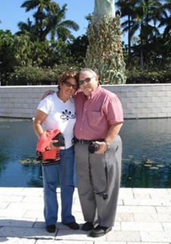 Rama Rubin y Boris Suster -- 2008, Holocaust Memorial, Miami, FL