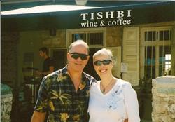 Ralph & Marilyn Grunewald (nee Prooth) -- 2009, Zichron Ya'akov, Israel