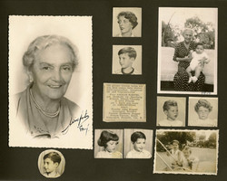 Page from photo album of Magda and John Koppel -- 1956, Guayaquil