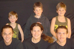 Niko Shefer's children (as of 2009)_  Daniel is 23 (bottom left in front row), then comes Nathan who