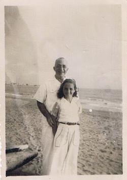 My father, Siegbert Cohn, and me --  ca.jpg