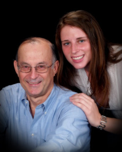 Fred Grunewald and daughter, Madelyn -- 2009, Dallas, Texas