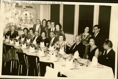 Ernst Wellisch's 60th birthday celebration -- June 20, 1963, Guayaquil