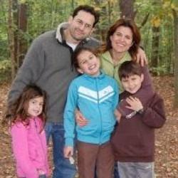 David & Jessika Wellisch & children