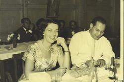 Ilse Grunewald (nee Koppel) and Heinz Grunewald -- 1957, Guayaquil