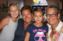 Sonja Gely-Zurita and her daughter, Miriam, visit Washington, DC from Switzerland, along with Miriam