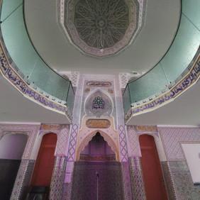 Mehrab-Decke