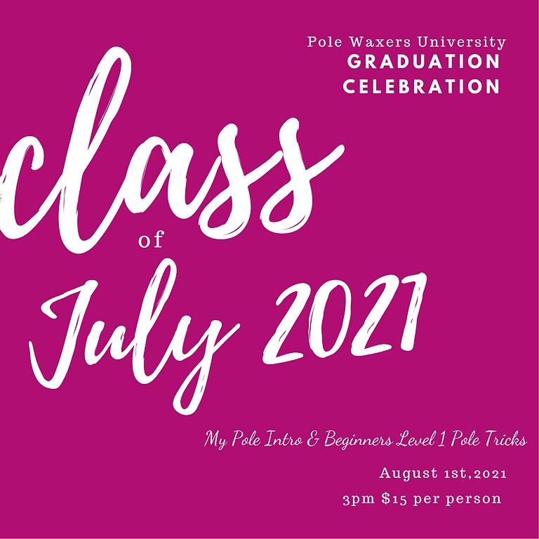 Beginners Pole Recital Graduation