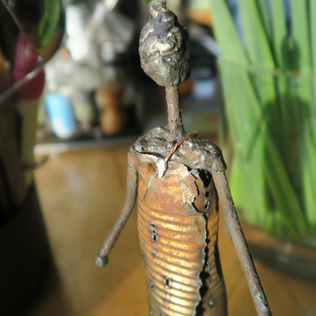 Original 'Tin Folk' figure