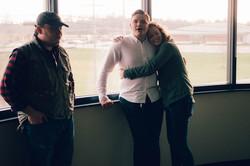 Greg Cox, Tegeler, & Claire Willette