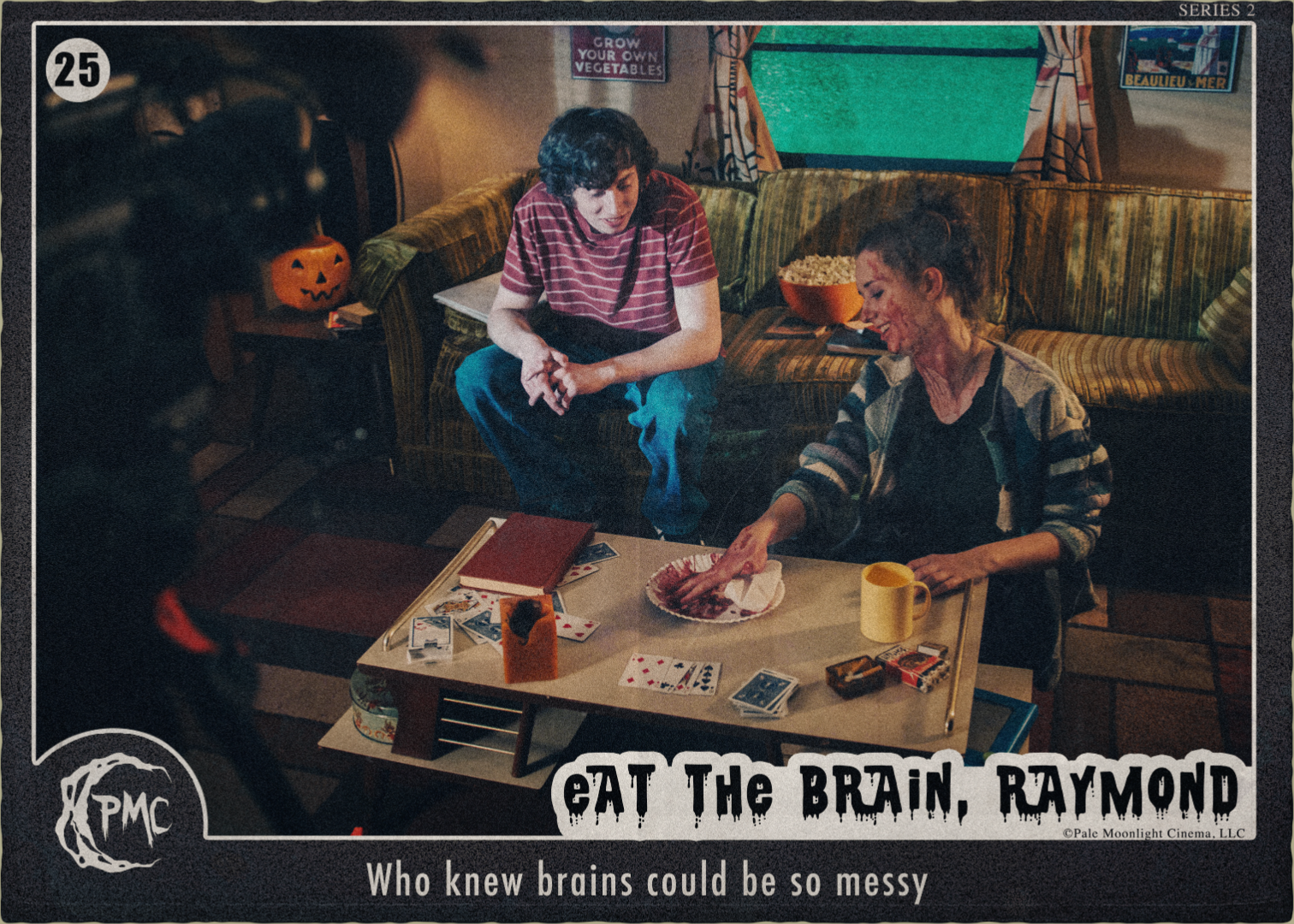 25 Eat the Brain Raymond BTS front