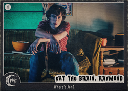 1 Eat the Brain Raymond BTS front