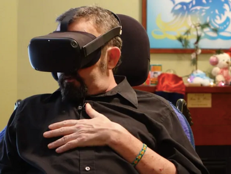 How VR is letting palliative patients 'complete their bucket list'