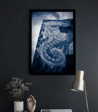 street dragon framed with blk.jpg