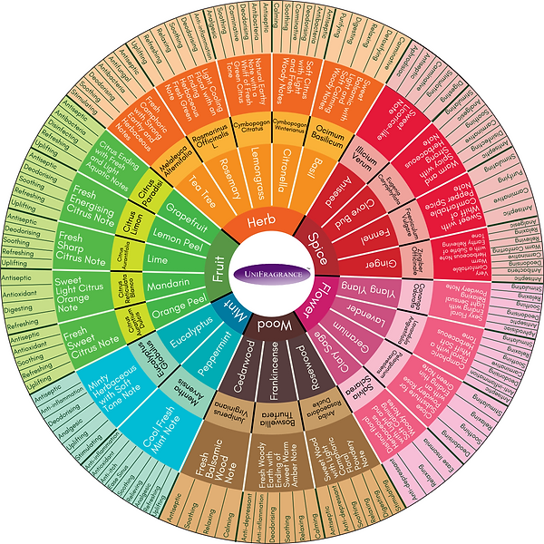 Nautral Essential Oils Guide Chart