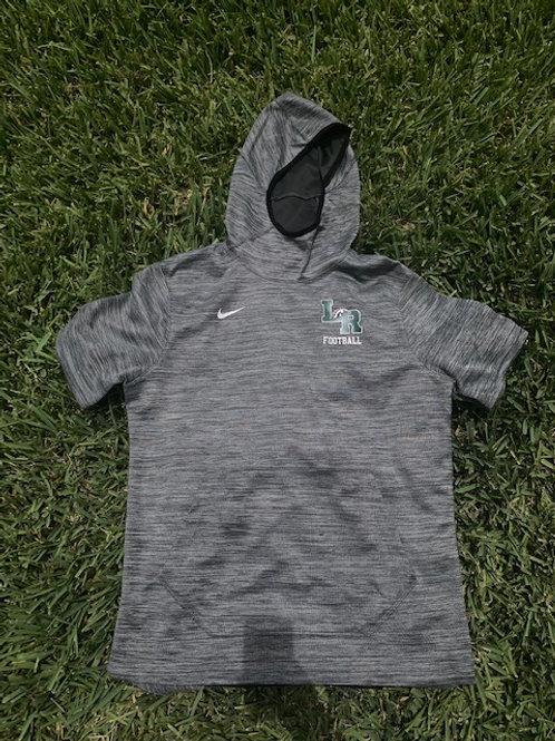 3/4 sleeve, pullover performance hoodie